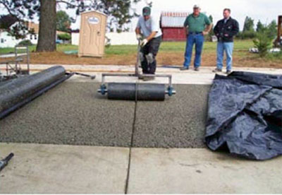 Pervious Pavement Pervious Concrete For Green